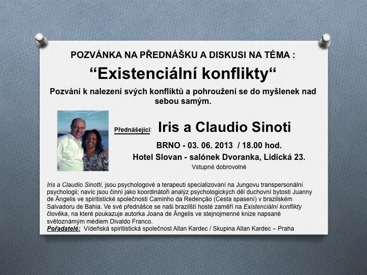 Iris a Claudio Sinoti